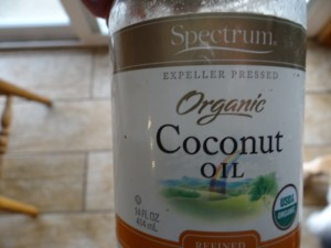 PUT COCONUT OIL ON YOUR BULLIES DRY CRACKED NOSE--IT WORKS